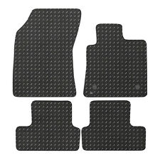 For Renault Megane MK4 2016+ Fully Tailored 4 Piece Rubber Car Mat Set