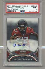 2011 Bowman Sterling Jacquizz Rodgers Rookie Autograph PSA 9 MINT
