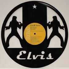 Elvis Presley Pure Laser Cut Black Vinyl LP Record Limited Edition Wall Art