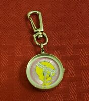 Vintage Looney Tunes Armitron Tweety Bird Keychain Watch 1999