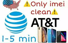 Service Unlock iphone 5/5s/6/6s/7/8/Plus/X/Xr/X s/+ At&T 1-15 Minutes