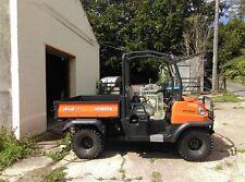 Kubota RTV900 UTILITY ATV DIESEL 4x4 hydraulic tipping body NO VAT