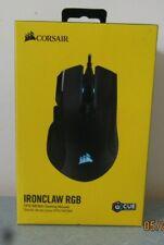 CORSAIR IRONCLAW RGB Wireless/Bluetooth 18K DPI Optical Gaming Mouse - Black