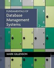Fundamentals of Database Management Systems: By Gillenson, Mark L.