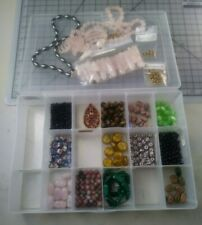 Lot of loose bead-stone. Craft, Jewelry making. I got it in a storage auction.