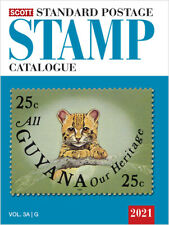 2021 Scott Stamp Catalog Volume 3 A & B Countries G-I Free Shipping FoXriVeR