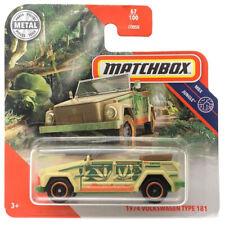 1974 Volkswagen Type 181 2020 Matchbox MBX Jungle MB736 #67 Short Card