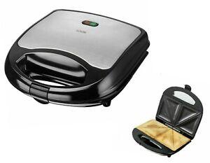 Electric Sandwich Toaster Toastie Maker Machine Non Stick 2 Slice Bread Press