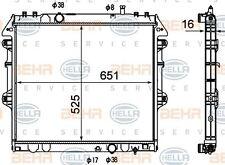 8MK 376 790-181 HELLA Radiatore Raffreddamento Motore