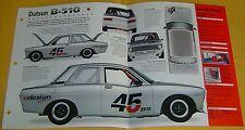 1968 Datsun B-510 Race Car 1595cc 4 Cylinder IMP Info/Specs/photo 15x9