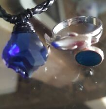 H20 JUST ADD WATER NECKLACE MERMAID AND MAKO MERMAID MOON RING