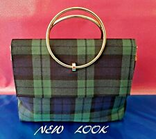 NEW LOOK. Ladies Checkered Matilda pattern shoulder bag. NEW.