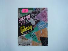 Gibson,  ROCK - ON 1986 catalog..
