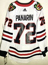 adidas Authentic NHL Jersey Chicago Blackhawks Panarin White sz 46