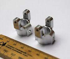 Rock Crawler Aluminium Argenté C Moyeux / Chubs pour Rc Axial SCX10 Amélioration