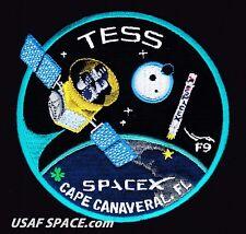 TESS - SPACEX ORIGINAL FALCON 9 - F-9 Launch - NASA SATELLITE Mission PATCH