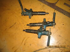 FORD TRACTOR 3 CYLINDER  ENGINE (3) INJECTORS COMPLETE