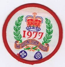 The Queens Silver Jubilee 1977 Traded For At World Jamboree 600809