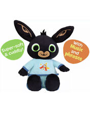 Bedtime Bing Plush Music Sounds Talking Soft Bunny Toy