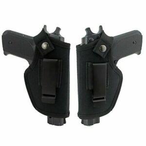 Tactical Gun Holder Pistol Side Arm Holster Black Combat Concealed Universal UK