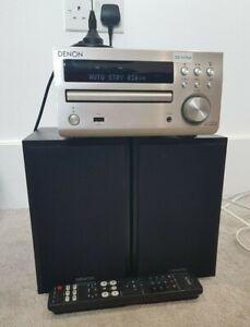 Denon RCD-m40dab DAB radio-CD player, Denon speakers and DAB aerial
