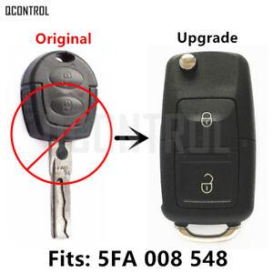 Keyless Entry Car Remote Flip Key fob for SEAT Octavia 5FA 008548 HELLA 434MHZ