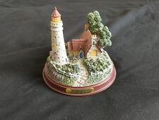 "Thomas Kinkade ""The Light of Peace"" Lighted Lighthouse"