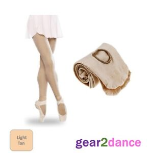 Studio Quality 60 Denier Girls Dance Tights Ballet Tap Modern Convertible & Full