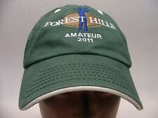 FOREST HILLS - AMATUER 2011 - EMBROIDERED - ADJUSTABLE BALL CAP HAT!