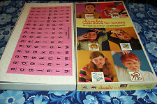 Selchow & Righter Charades For Juniors No.38 - Pictures & Letter Games 1968