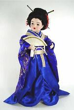 """Marie Osmond 2005 """"Chika In Blue"""" 23"""" Porcelain Doll"""