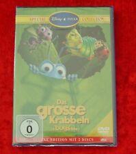 Das grosse Krabbeln Deluxe Edition mit 2 Disc´s, Walt Disney DVD, Neu