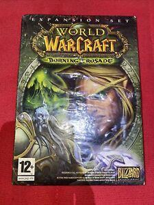 Sealed WOW The Burning Crusade World of Warcraft PC Video Game UK