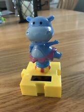 New Solar Powered Dancing Toy Bobble Head Circus HIPPO