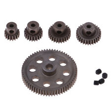 Diff Main Gear 64T & Motor Pinions 29T/26T/21T/17T for HSP 1/10 RC Models