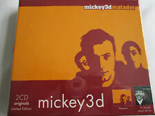 Mickey 3D - Matador/Tu Vas Pas Mourir de Rire... 2CD Limited Edition Box Set NEW