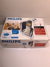 Philips Cordless VOIP Phone Model VOIP 3211 In Box