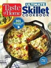 TASTE OF HOME ULTIMATE SKILLET COOKBOOK - TASTE OF HOME (COR) - NEW PAPERBACK BO