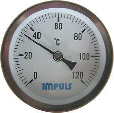 Profi Chrom Thermometer für Räucherofen / Räucherschrank zum Räuchern geeignet