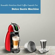 Upgrade Stainless Steel Refillable Reusable Coffee Capsule for Dolce Gusto
