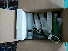 Nintendo White Wii Console Bundle Wii Fit, Your Shape, 3 Controllers