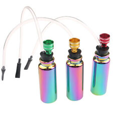 Rainbow Mini glass water pipe Hookah Smoking Herb Tobacco Pipes Removable