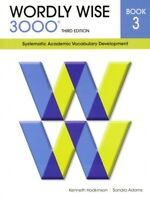 Wordly Wise 3000 Book 3 Third Edition Student 3rd Grade Vocabulary