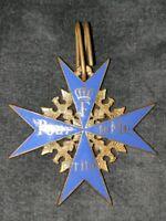 Pour Le Mérite orden emailliert - alte Manufaktur hervorragende Qualität