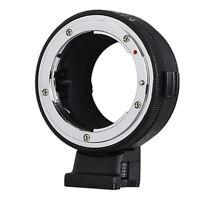 Commlite Adapter - Nikon F Objektiv to Sony E FE Kamera