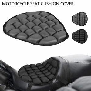 Motorcycle 3D Comfort Gel Seat Pad Cushion Universal Air Motorbike Pillow Cover