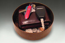New Hand Hammered Copper Coin/Key Caddy - Free Shipping