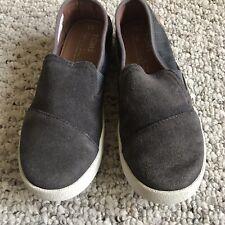 80dd13aa5 Tom s Gray Slip - On Unisex Kids  Shoes
