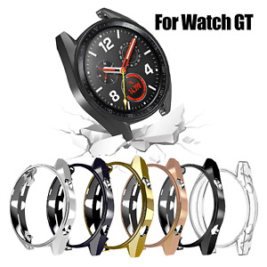 Case Cover For Huawei Smart Watch GT 46mm  + Tempered Glass Screen Protector