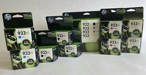 HP 932XL 933XL 933 Ink Cartridges Black / Color Ink OEM (LOT OF 13 CARTRIDGES)